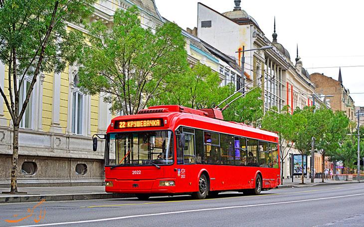 اتوبوس برقی بلگراد