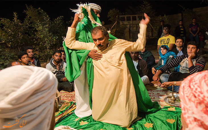 مراسم جن گیری در جنوب ایران