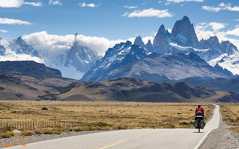 بهترین جاده ها برای دوچرخه سواری در دنیا! آرژانتین