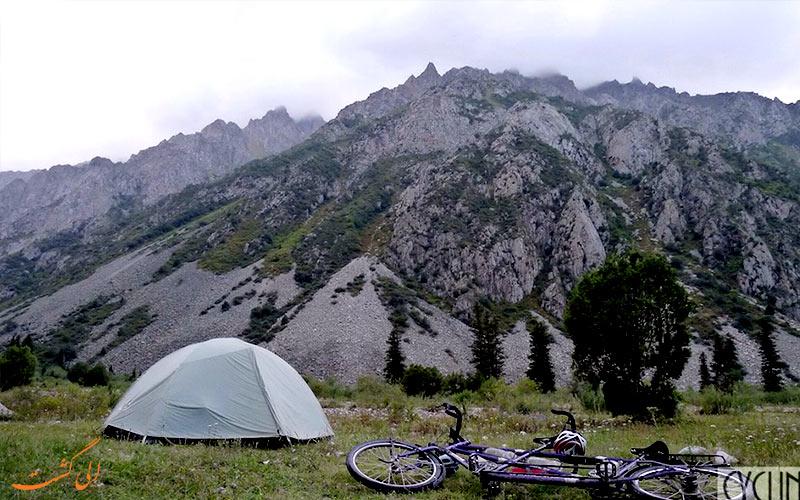 دوچرخه سواری در قزاقستان