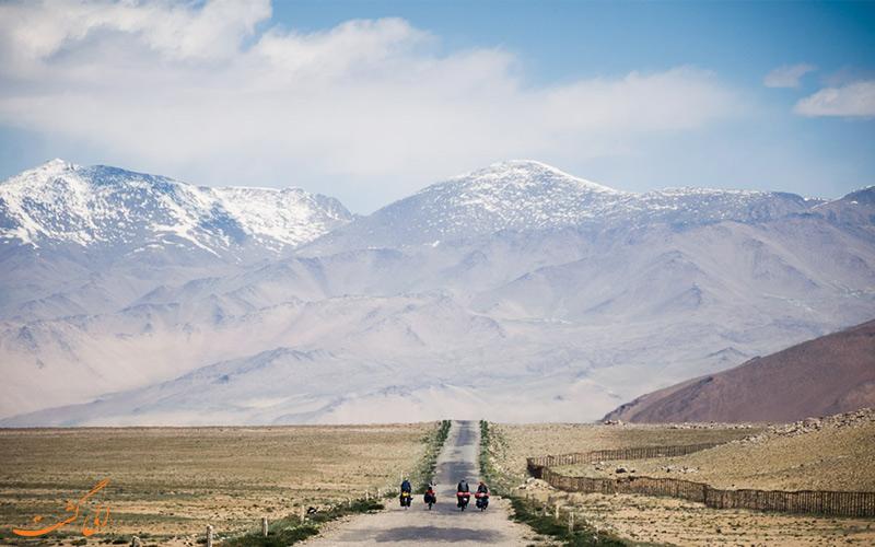 دوچرخه سواری در تاجیکستان