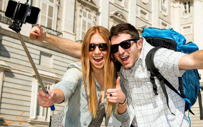 تجهیزات الکترونیکی سفر-مونوپاد
