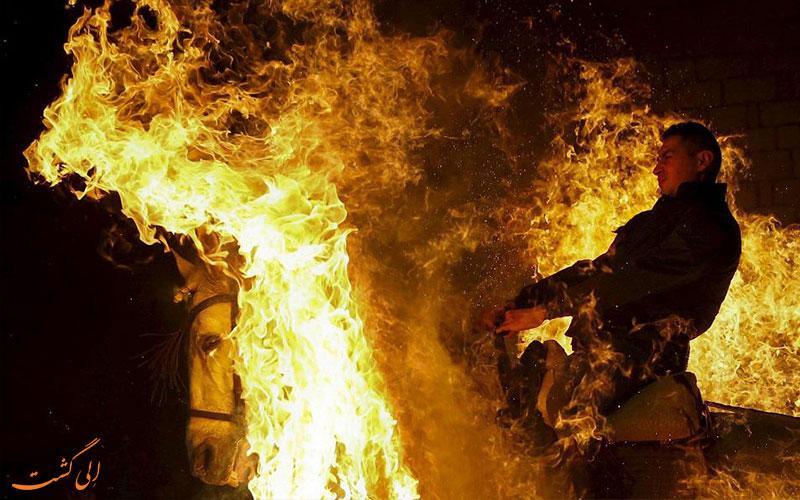پرش از روی آتش