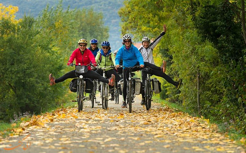 سفر با دوچرخه-تورهای روزانه