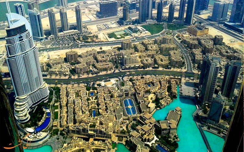 سفر 7 روزه به دبی-برج خلیفه