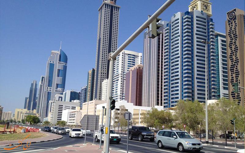 سفر 7 روزه به دبی-محله های دبی