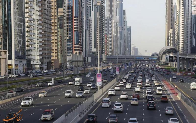 بزرگراه شیخ زائد دبی