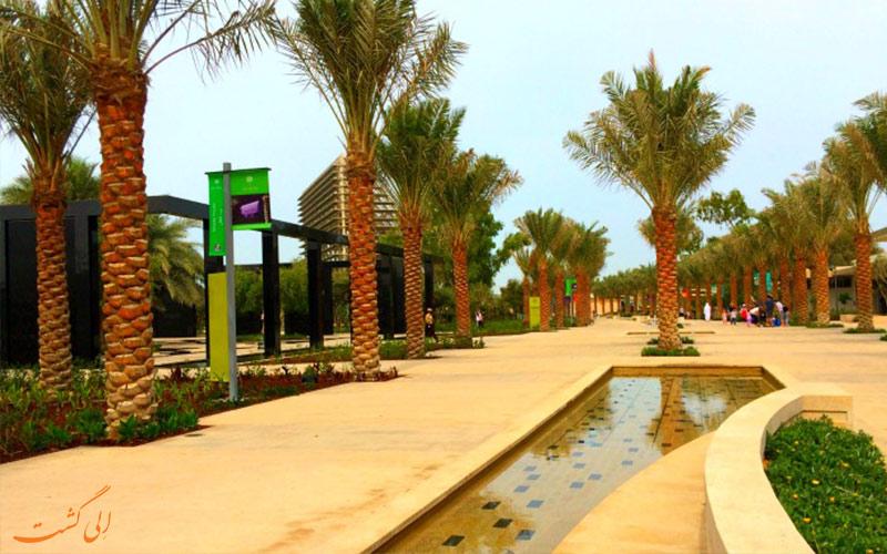 پارک مرکزی مشرف ابوظبی