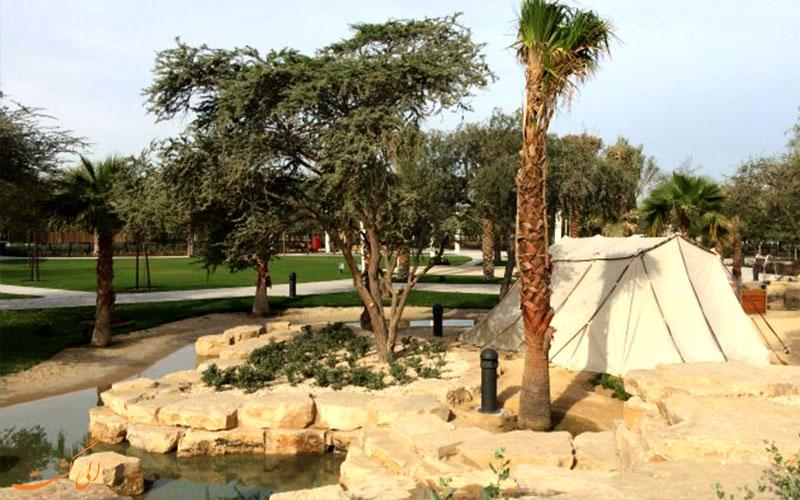پارک مرکزی مشرف ابوظبی-آب وادی