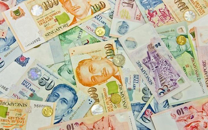 پول نقد در سنگاپور