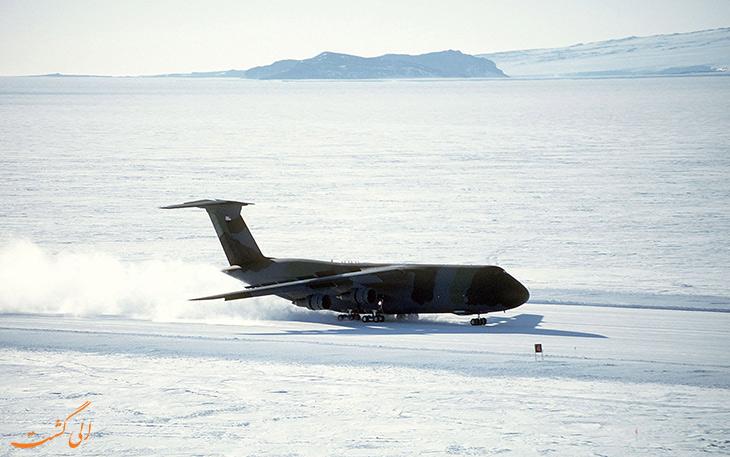 باند یخی فرودگاه