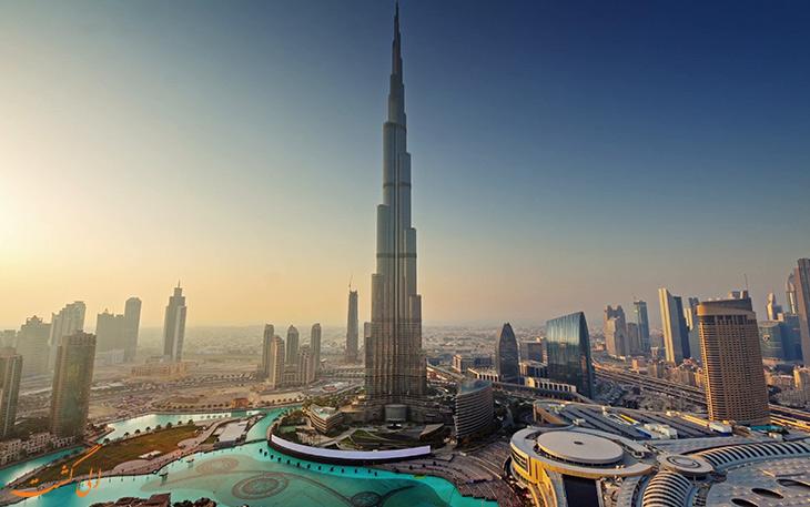 خیابان های معروف دبی