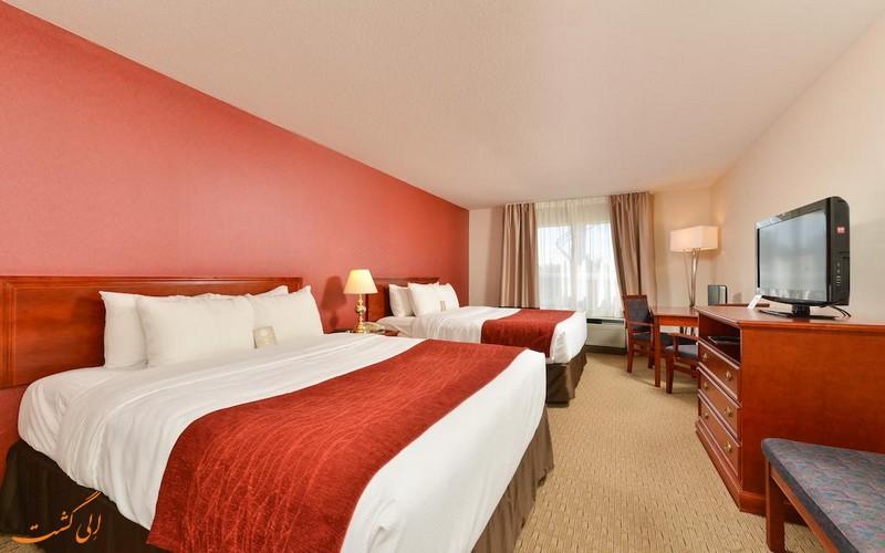 هتل 4 ستاره کانفورت سوت