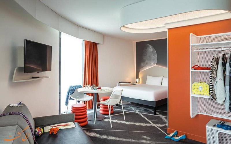 امکانات تفریحی هتل ایبیس استایلز فرودگاه شارل دوگل پاریس