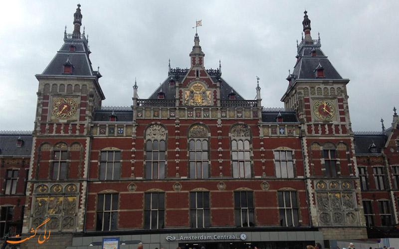 فاصله ی هتل اسلوتانیا آمستردام تا جاذبه های آمستردام