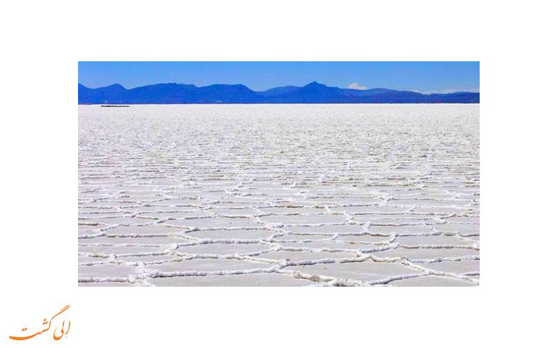 فلات نمکی سلار د اویونی در بولیوی