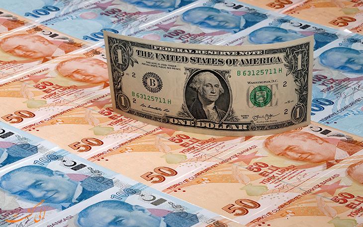 لیر و دلار