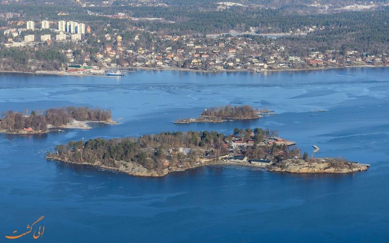 جزیره فیادرهولمارنا سوئد