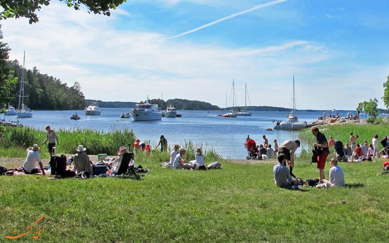 جزیره گریندا سوئد