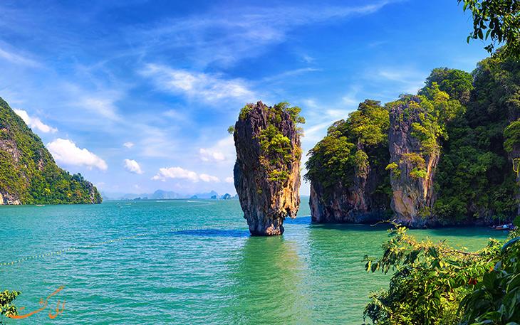 صخره جزیره جیمز باند