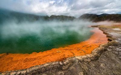 پدیده های طبیعی نیوزلند