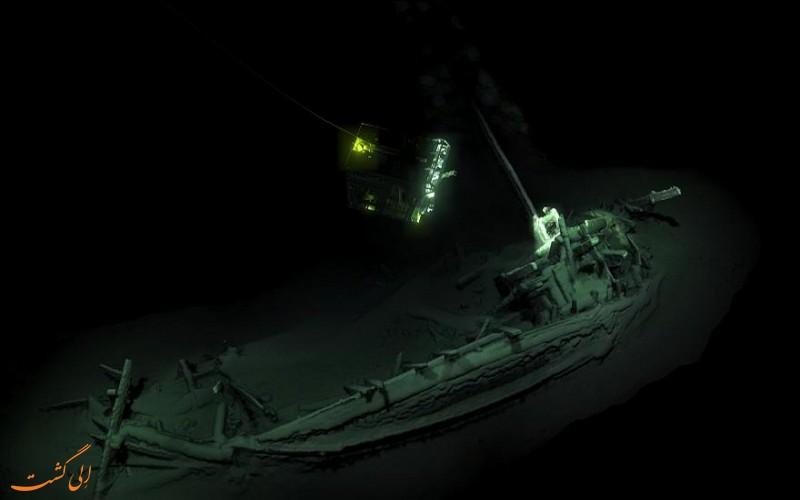 قدیمی ترین کشتی جهان در دریای سیاه