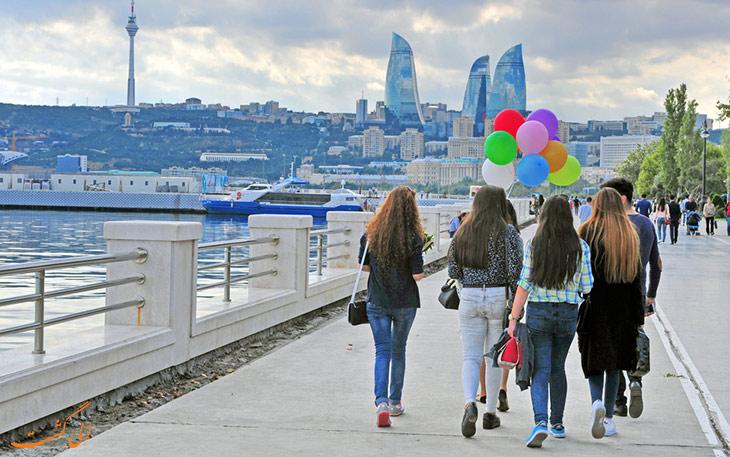 بلوار باکو-بازدید از باکو