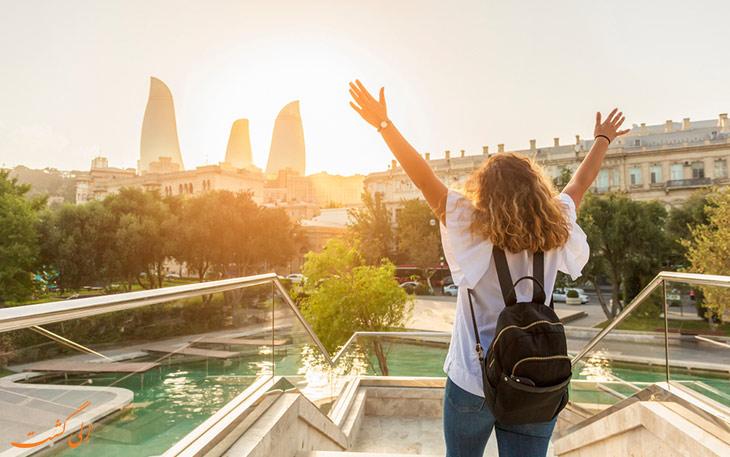 سفر ارزان به باکو