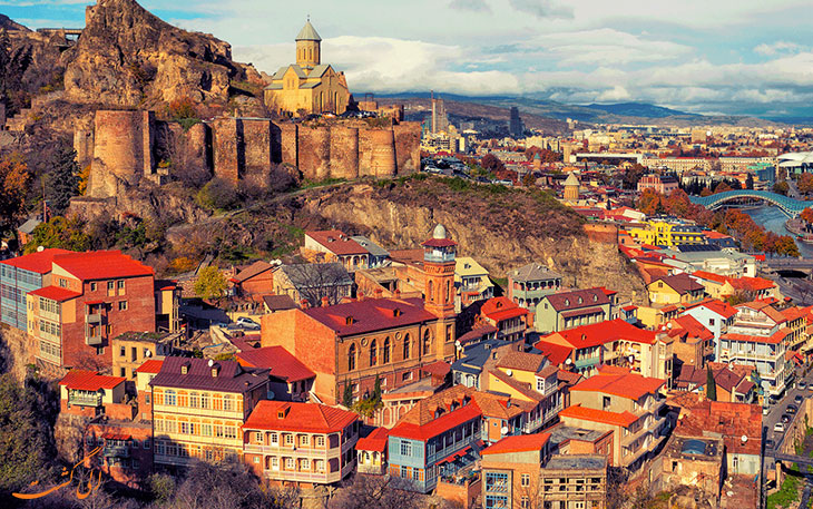 شهر تفلیس گرجستان