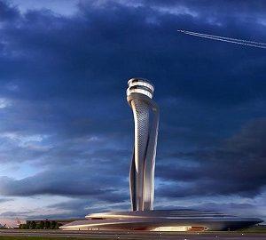 برج کنترل فرودگاه استانبول