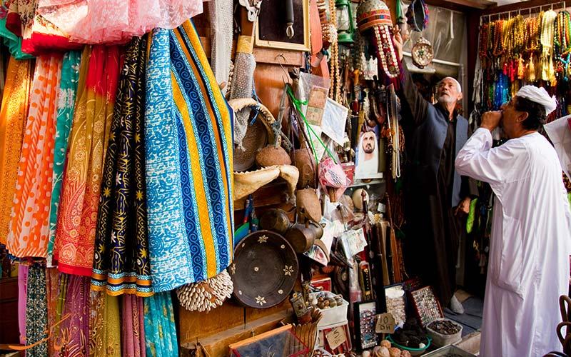 بازار پارچه دبی- مراکز خرید دبی