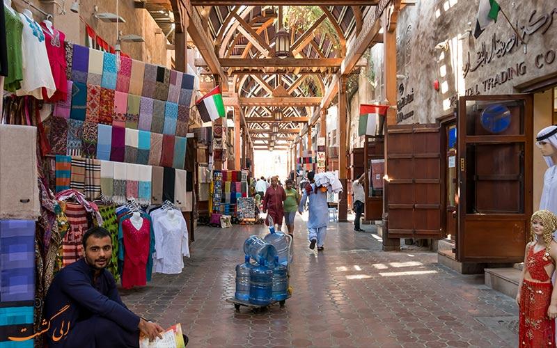 بازار پارچه دبی-جاذبه های دبی