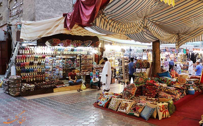 رفتن به بازار پارچه دبی