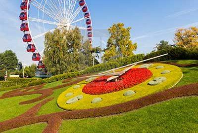باغ انگلیسی و ساعت گل ژنو-الی گشت