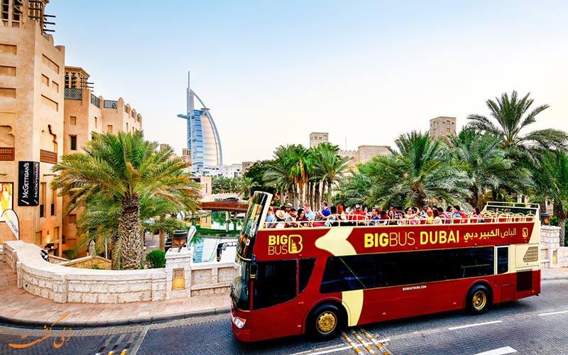 تورهای اتوبوسی دبی-مسیر آبی-نکات سفر به دبی