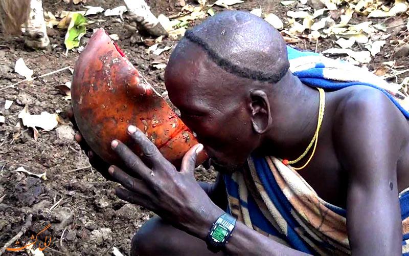روش زندگی جوانان قبیله سورما