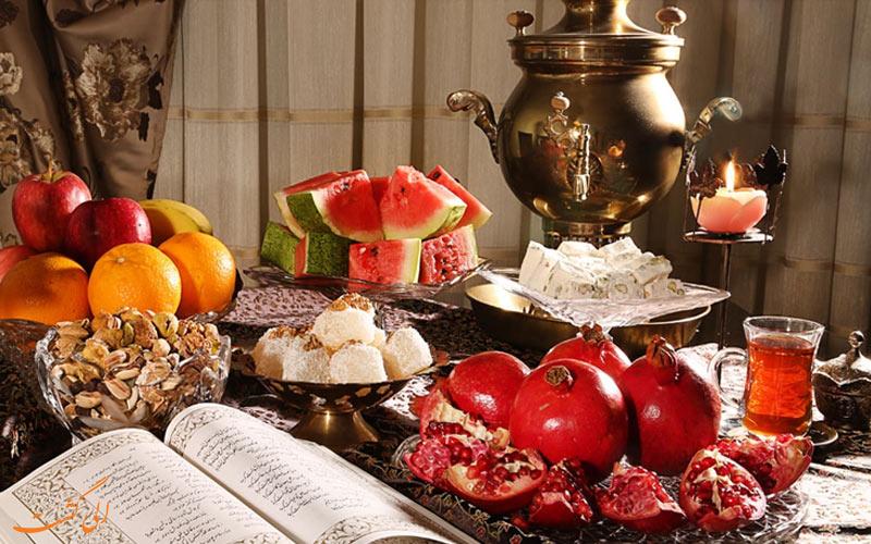 بهترین جاذبه های ایران برای شب یلدا