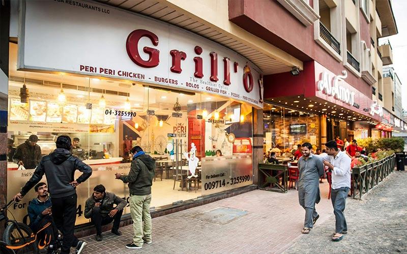 رستوران های منطقه آل برشا دبی
