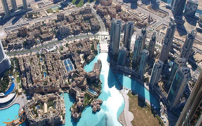 نمای منطقه آل برشا دبی