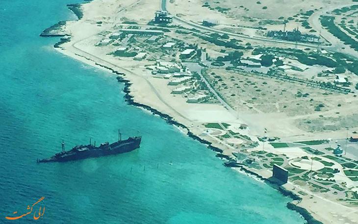 فرسایش و بازسازی کشتی یونانی