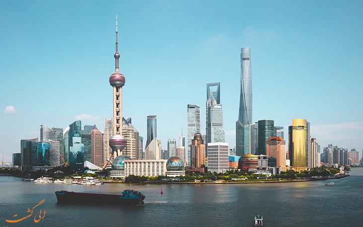 برج تلویزیونی شانگهای-تور پکن و شانگهای الی گشت