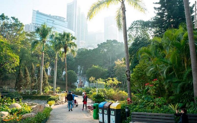 فضای سبز هنگ کنگ