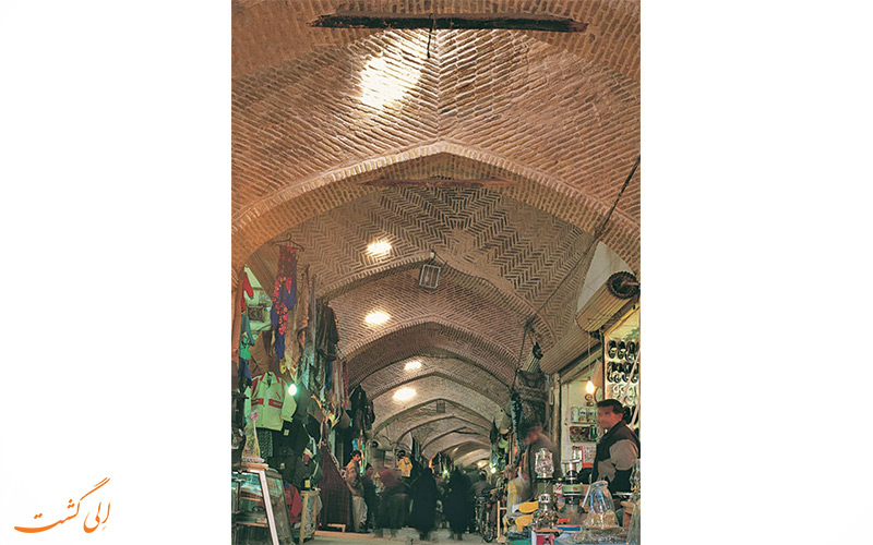 بازار قدیمی سرپوش نیشابور، بازاری با 550 سال قدمت!
