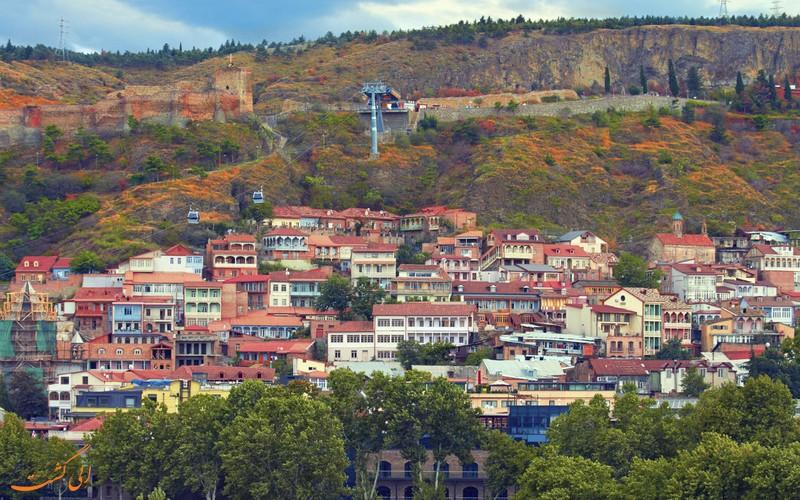 جاذبه های شهر تفلیس گرجستان