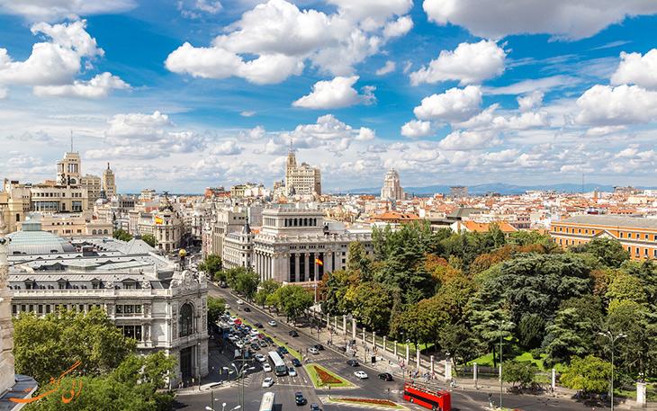 میدان سیبلس در مادرید