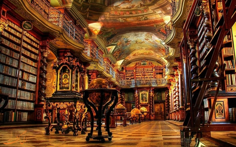 سالن مطالعه سلطنتی پرتغالی ها