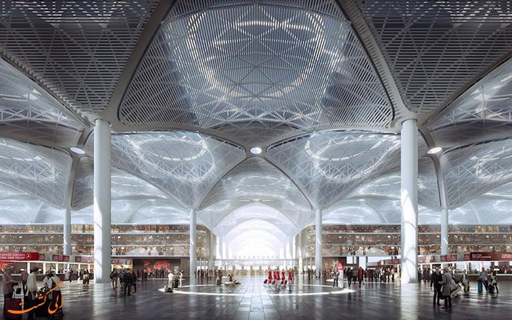 ویژگی های فرودگاه جدید استانبول