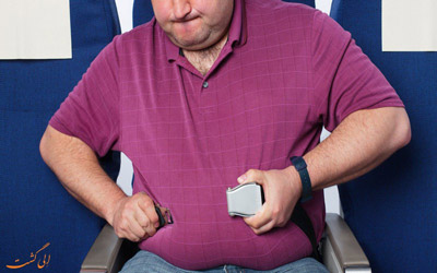 مسافران دارای اضافه وزن