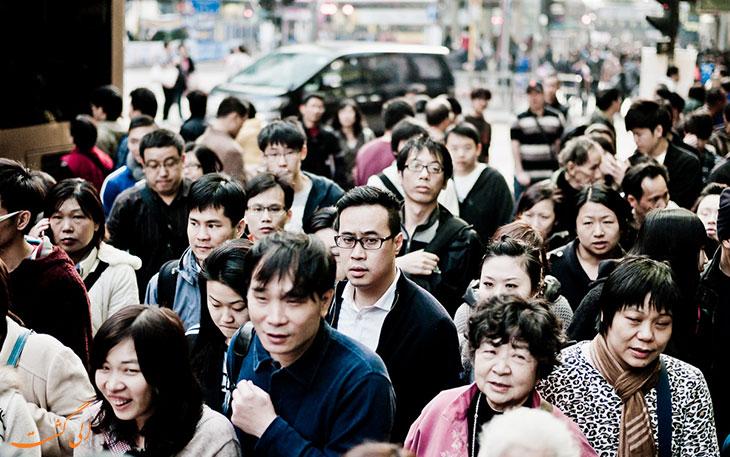 مردم هنگ کنگ