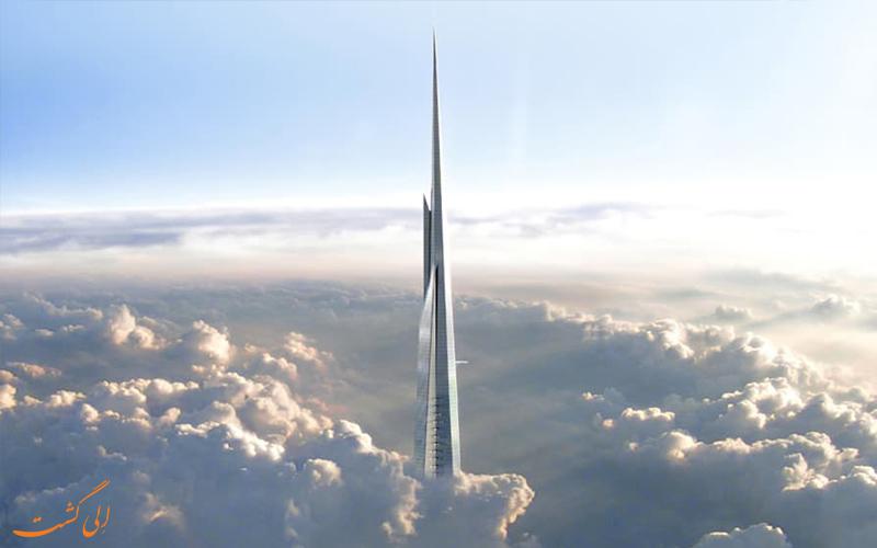 بلندترین آسمان خراش جهان-برج جده
